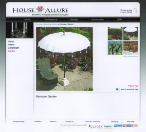 House of Allure Product View