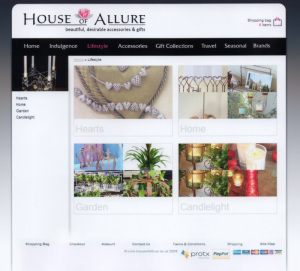 House of Allure Category Listings
