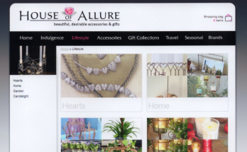 House of Allure Website