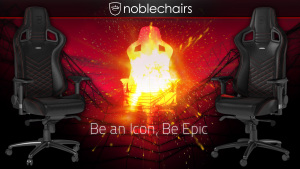 noblechairs 4k wallpaper
