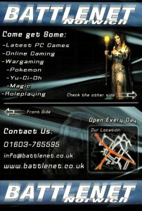 Battlenet Norwich Leaflet