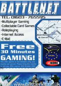 Battlenet Leaflet